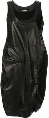 Junya Watanabe Comme Des Garçons Pre Owned Two-Layer Leather Dress