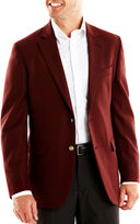 JCPenney Stafford Executive Hopsack Blazer-Big & Tall