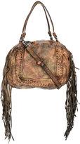 Giorgio Brato fringe-trimmed shoulder bag - women - Leather - One Size
