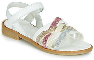 Citrouille et Compagnie JARILOU girls's Sandals in White