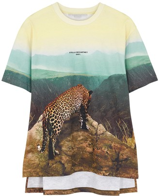 Stella McCartney Printed cotton T-shirt