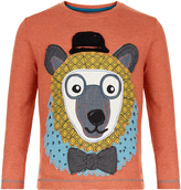 Monsoon Beau Bear Long Sleeve T-Shirt