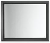 Blank Slant Framed Wall Mirror