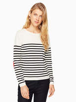 Kate Spade Heart patch sweater