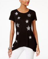 INC International Concepts Embellished T-Shirt, Only at Macy's