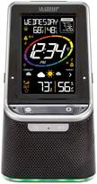 La Crosse Technology S87078 Color Wireless Weather Station with Bluetooth Speaker and USB Port