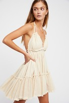 The Endless Summer 100 Degree Mini Dress by at Free People, Light tan, M