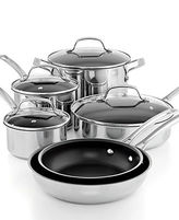 Circulon Genesis Stainless Steel Nonstick 10 Piece Cookware Set
