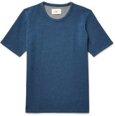 Folk Slim-Fit Knitted Cotton T-Shirt