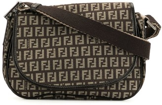 Fendi Pre-Owned Zucchino flap shoulder bag