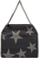 Stella McCartney Black Denim Small Falabella Shoulder Bag
