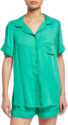 Underprotection Rana Short-Sleeve Pajama Shirt