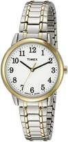 Timex Women's TW2P787009J Main Street Collection Two-Tone Stainless Steel Watch