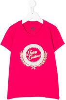 Juicy Couture metallic logo print T-shirt