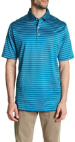 Peter Millar Sean Masked Stripe Polo Shirt