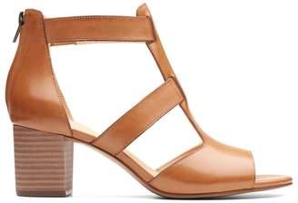 Clarks Deloria Fae Leather Sandals