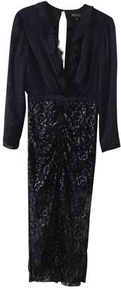 Saloni Blue Lace Dress for Women