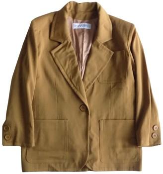 Givenchy Yellow Wool Jackets