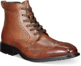 Alfani Men's Garth Wingtip Boots, Only at Macy's