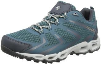Columbia Women's Ventrailia 3 Low Outdry Rise Hiking Boots Turquoise (Cloudburst Silver Grey 336) 4 UK 37 EU