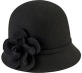 San Diego Hat Company Women's Cloche Bucket Hat with Flower WFH8035