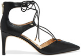 Sam Edelman Taylor lace-up leather pumps