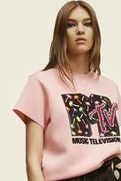COLLECTION (RUNWAY) MTV x Marc Jacobs Short-Sleeve Crewneck Sweatshirt