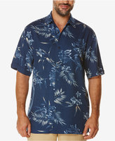 Cubavera Men's Big and Tall Short-Sleeve Tropical Shirt