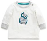 Purebaby Owl Tee