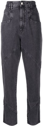 Isabel Marant High Waisted Tapered Jeans