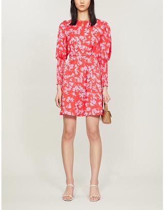 Selfridges Delores floral-print woven mini dress