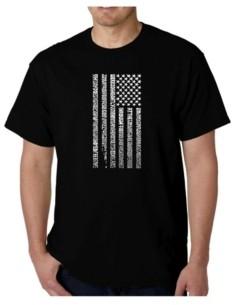 LA Pop Art Mens Word Art T-Shirt - Anthem
