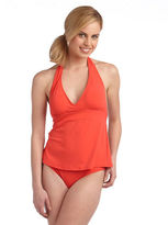 Robin Piccone Open-Back Tankini Swim Top
