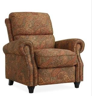 Copper Grove Jessie ProLounger Paisley Push Back Recliner Chair