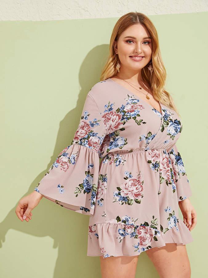 76d4d11f13 Large Floral Print Fabric - ShopStyle
