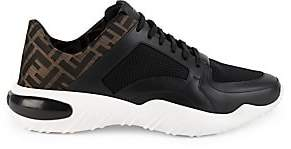 Fendi Men's Logo Leather & Mesh Runners