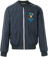 Nuur embroidered bomber jacket - men - Cotton/Linen/Flax/Viscose - 48