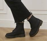 Dr. Martens Serena 8 Eyelet Boots Black Leather