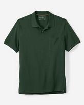 Eddie Bauer Men's Field Short-Sleeve Pocket Polo