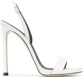 Giuseppe Zanotti Patent High Heel Sandals