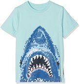 Fat Face Boy's Pixel Shark T-Shirt