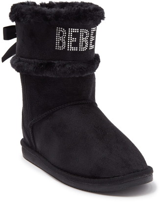 Bebe Microsuede Winter Boot