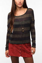 Sparkle & Fade Lurex Striped Sweater