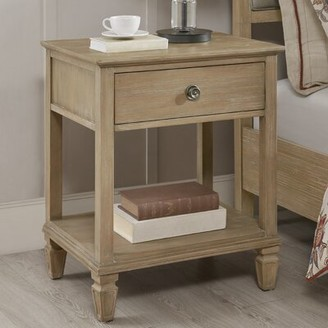Madison Home USA Victoria Bedside 1 Drawer Nightstand Signature