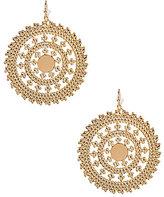 Anna & Ava Filigree Disc Earrings