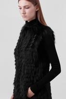 Diane von Furstenberg Taryn Fur Vest
