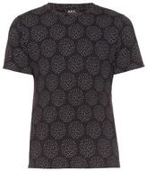 A.p.c. Wimbledon Dot-print Crew-neck T-shirt