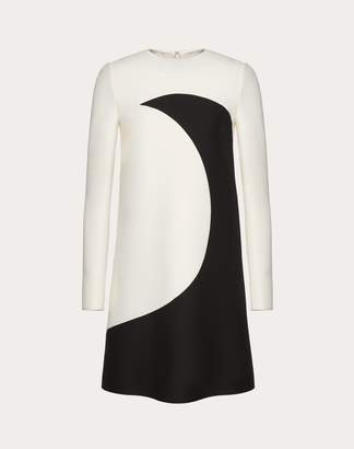 Valentino Crepe Couture Inlay Dress Women Ivory 38