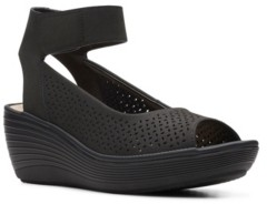 Clarks Collection Women's Reedly Jump Sandal Women's Shoes