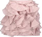 Isabel Marant Ruffled silk-jacquard mini skirt